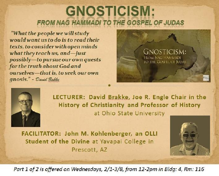 Gnosticism - mystery school of mastery