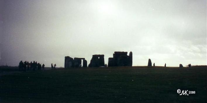 Stonehenge is rumored to be an old Spirit Circle, now fixed in stone
